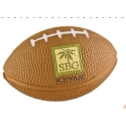 Football Style Foam Stress Ball (Priority)