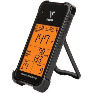 Custom Voice Caddie SC100 Swing Caddie Portable Launch Monitor - Black