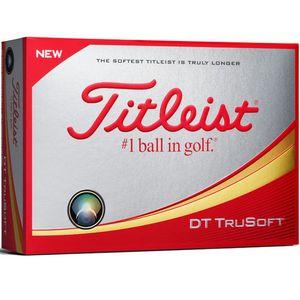 Custom Titleist DT TruSoft Golf Balls - 1 Dozen