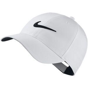 Custom Nike L91 Tech Swoosh Cap - White