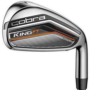 Custom Cobra King F7 Iron Set - Steel Shafts