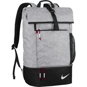 Custom Nike Sport Backpack - Silver/Red/Black