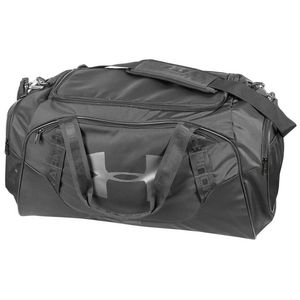 Custom Under Armour Undeniable Medium Duffle Bag 3.0 - Graphite Gray