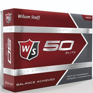 Custom Wilson Staff Fifty Elite Golf Balls - 1 Dozen