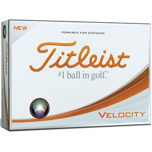 Custom Titleist Velocity Golf Balls - 1 Dozen