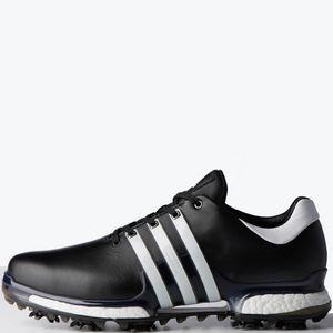 c3bfddea946e Promotional Product - Adidas Tour360 Boost 2.0 Men s Golf Shoes -  Black White