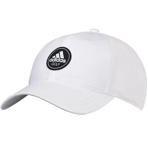 Custom Adidas Cotton Relaxed Hat - White