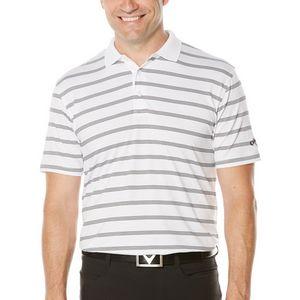 4fb3f9f7 Callaway Men's Opti-Dri Striped Polo - Bright White - CGKS60M2-100 - IdeaStage  Promotional Products