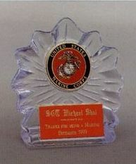 4.25 Sculpted Flame Ice Award