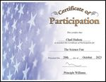 Custom Participation Certificate (Certificate Only)