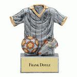 Custom Resin Stand Sports Jersey Award (Soccer)