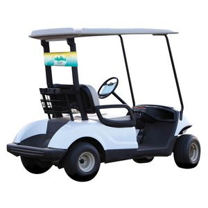 Custom Golf Cart Banner
