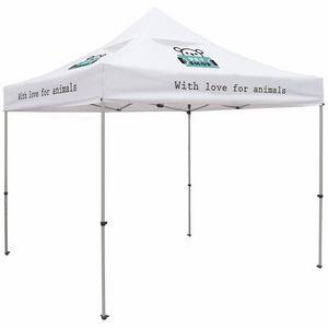 Custom Premium 10' Tent, Vented Canopy (Imprinted, 4 Locations)