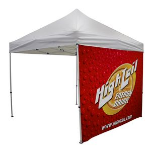 Custom 10' Tent Full Wall (Dye Sublimated, Double-Sided)