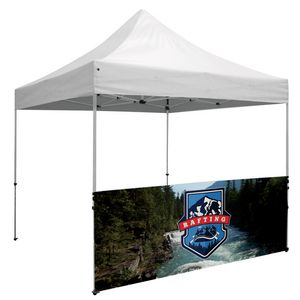 Custom Standard 10' Tent Half Wall Kit (Dye-Sublimated, 1-Sided)