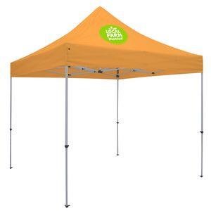 Custom Deluxe 10' Tent Kit (Full-Color Imprint, 1 Location)