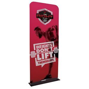 Custom 3' EuroFit Banner Display Kit