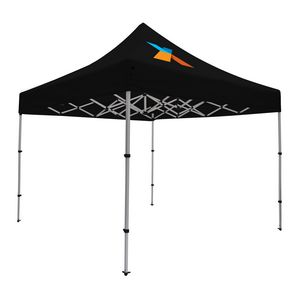 Custom Compact 10' Tent Kit (Full-Color Imprint, 1 Location)
