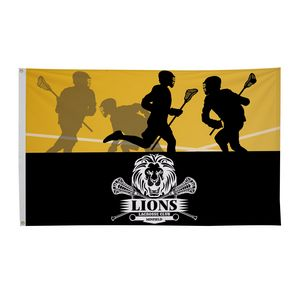 Custom Polyester Flag (Double-Sided) - 3' x 5'