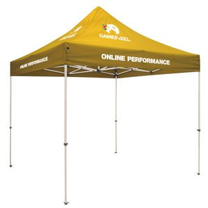 Custom Standard 10' Tent Kit (Full-Color Imprint, 7 Locations)
