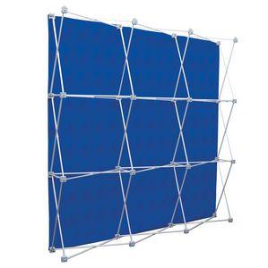Deluxe GeoMetrix 9-Quad Back Wall Panel