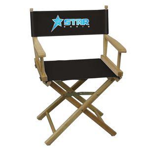 Custom Table-Height Director's Chair (Full-Color Imprint)