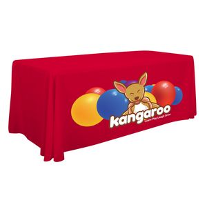 Custom 6' Standard Table Throw (Full-Color Front Only)