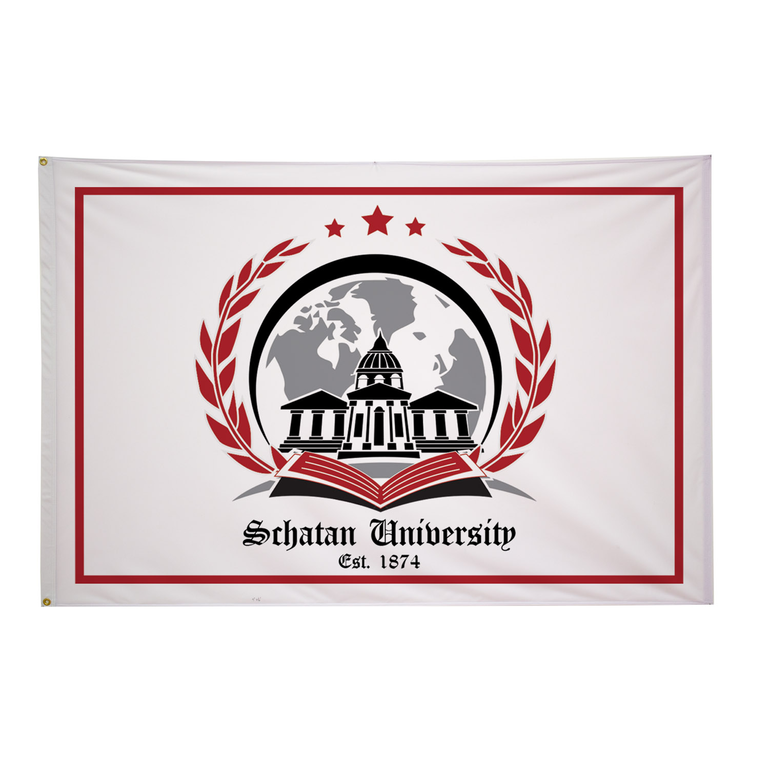 Polyester Flag (Double-Sided) - 4