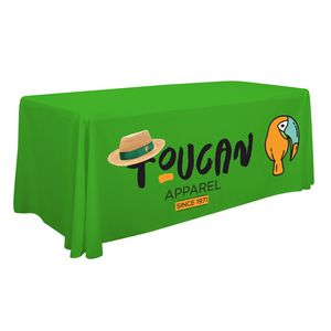 Custom 6' Economy Table Throw (Full-Color Front Only)