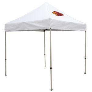 Custom Deluxe 8' Tent Kit (Full-Color Imprint, 1 Location)
