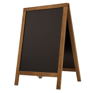Custom Economy Wood A-Frame Chalkboard Hardware