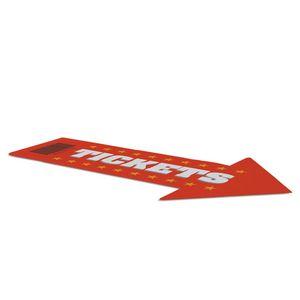 """72"""" x 42"""" Indoor Arrow Surface Grip"""