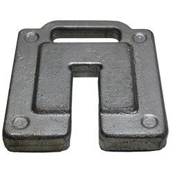 Custom Steel Ballast Weight for Event Tent Legs