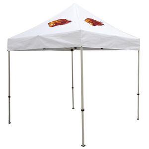 Custom Deluxe 8' Tent Kit (Full-Color Imprint, 2 Locations)