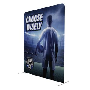 Custom 8' W x 10' Tall EuroFit Straight Wall Kit
