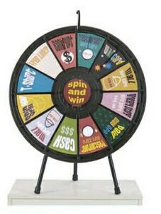 Custom Imprinted Prize Wheels!
