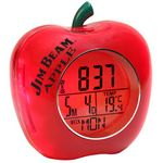 Custom Apple Shaped Talking Alarm Clock (Red)