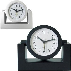 Custom Desk Top Variable Angle or Swivel Alarm Clock