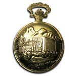 Pocket Watch w/ Chain (Truck)
