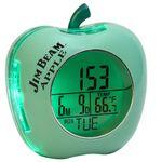 Custom Apple Shaped Talking Alarm Clock (Green)