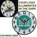 Custom Full Color Wall Clock with Full LED Back Light