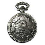 Custom Pocket Watch w/ Chain (Locomotive)