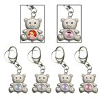 Custom Teddy Bear Shape Key Chain Quartz Watch