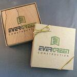 Custom Absorbent Natural Sandstone Coaster - Single in Printed Gift Box