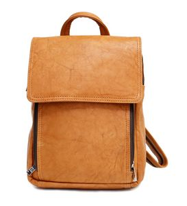 2adaf82d093c Mariah Trendy Backpack (Tan Leather) - B8644-18-08 - IdeaStage Promotional  Products