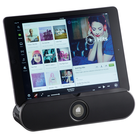 ifidelity Rollbar Bluetooth Speaker Stand, 7199-55 - Laser Engraved Imprint