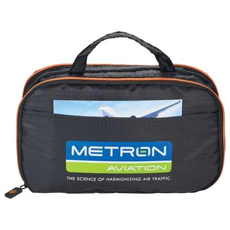 BRIGHTtravels Slim Utility Travel Bag, 7007-50 - 1 Colour Imprint