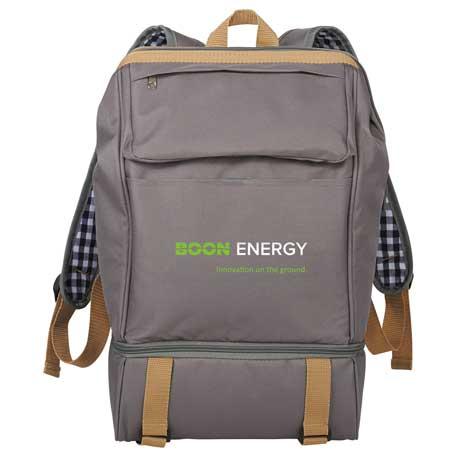 Café Picnic Backpack for Two, 1450-44-L, 1 Colour Imprint