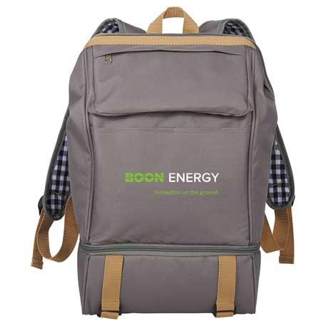 Cafe Picnic Backpack for Two, 1450-44 - 1 Colour Imprint