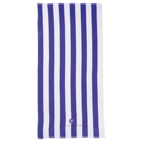 10 lb./doz. Cabana Beach Towel, 2090-33 - 1 Colour Imprint